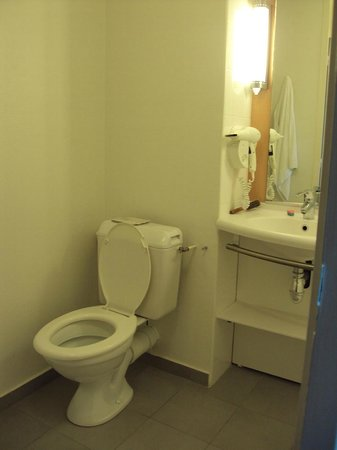 Ibis Bordeaux Saint Emilion : Baño de habitación doble estándar.