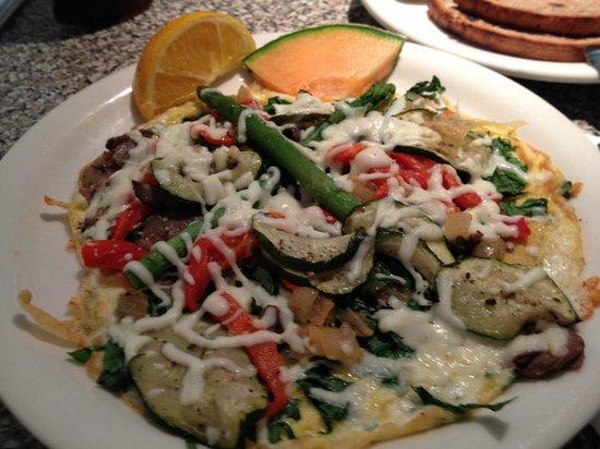 Andy's Flour Power: Vegetable Frittata