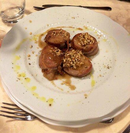 Ristorante Centro Ippico Boccadarno: Nodini di maiale