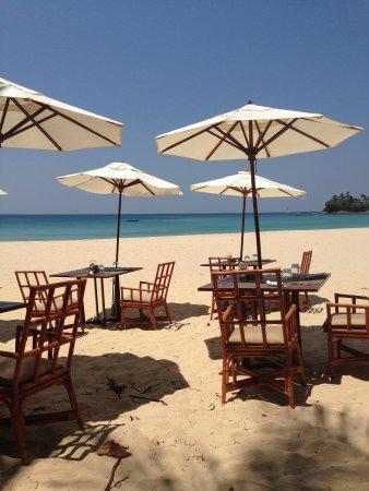 The Surin Phuket: Beach Restaurant