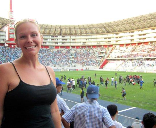 Peru Football Tours at National Stadium