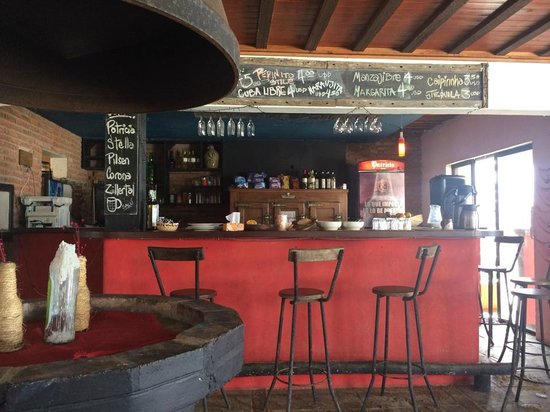 El Diablo Tranquilo Hostel: Bar