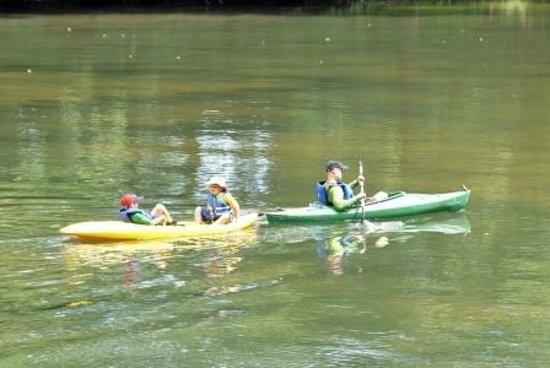 Outlanders River Camp : Area Kayaking