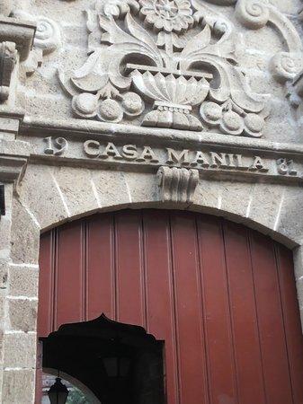 Intramuros: Casa Manila  Facade