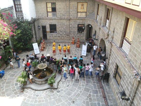 Intramuros: A view fom the museum above