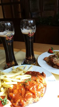 Quack Inh. Baha Melhem: Great beer with real German food!