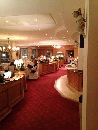 Austria Bellevue Hotel: Dining area