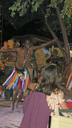 The Boma - Dinner & Drum Show : Dancer at Boma