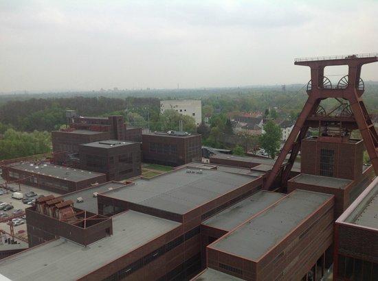 Zeche Zollverein Essen: Вид со смотровой площадки
