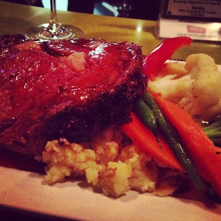 The Edge Wine Bar and Grille: Prime Rib Fridays!
