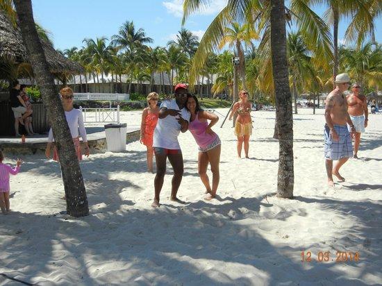 Paradisus Varadero Resort & Spa: tratando de bailar