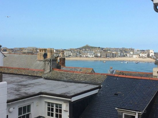 Trevose Harbour House : The view from our room