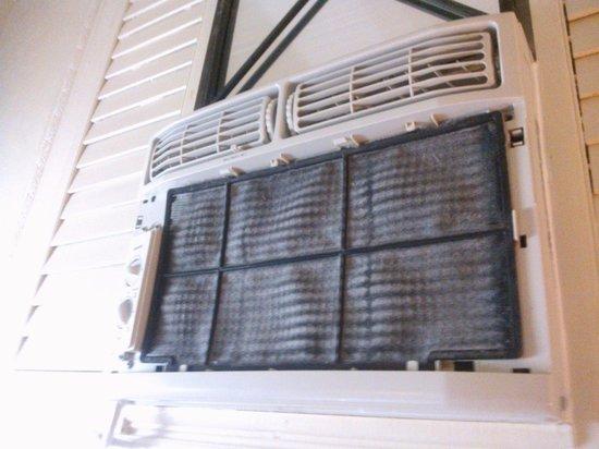 Hotel Belgica : aire acondicionado