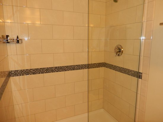 Downtown Grand An Ascend Collection Hotel Bathroom Shower No Tub Very Clean