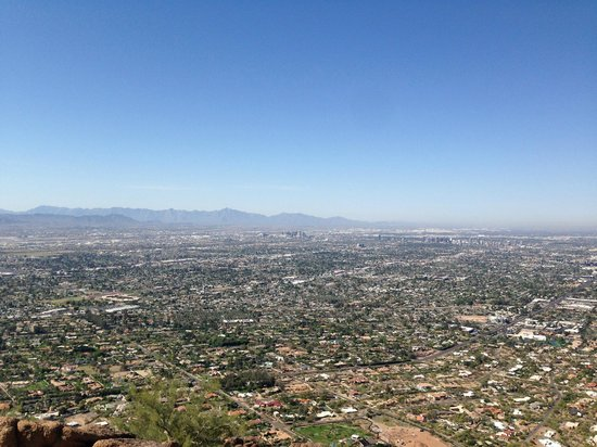 Camelback Mountain: view from the top
