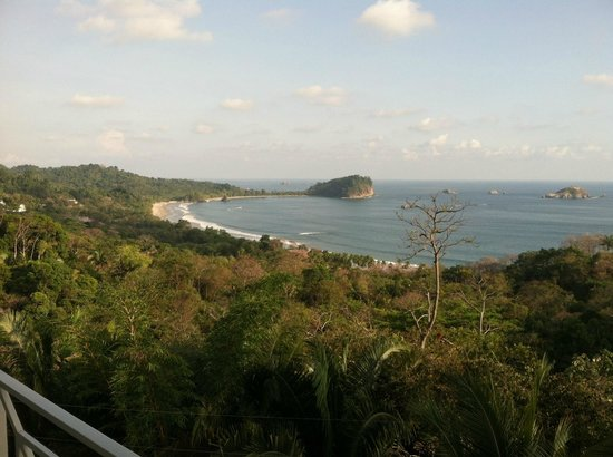 La Mansion Inn: View from Balcony(Manual Antonio National Park)
