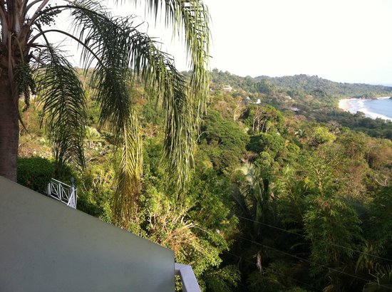 La Mansion Inn: View from balcony
