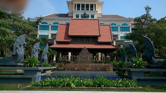 Pacific Hotel & Spa : Hotel Entrance