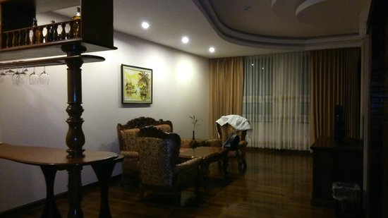 Pacific Hotel & Spa : Lounge area of the Suite