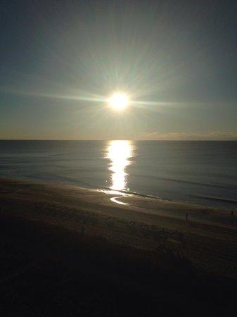 Carolinian Beach Resort: My morning view