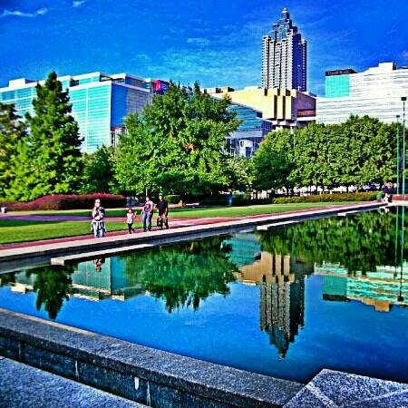 Centennial Olympic Park: Reflections Of A City