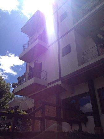 Pousada Santha Serra: Área externa