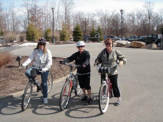 Nemacolin Woodlands Resort & Spa: Biking around the resort
