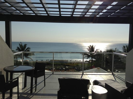 Boca Beach Club, A Waldorf Astoria Resort: With a view like this, you won't want to leave the property! We didn't!