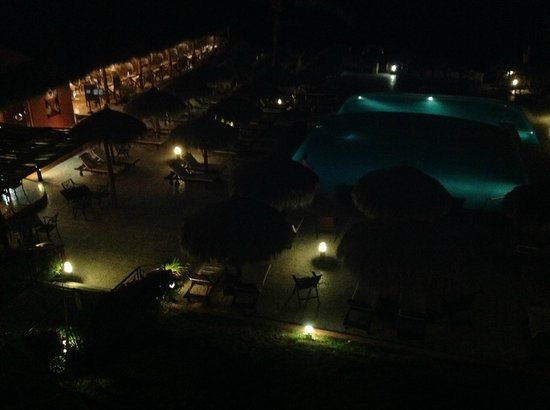 The Royal Suites Punta de Mita by Palladium: View at night from balcony