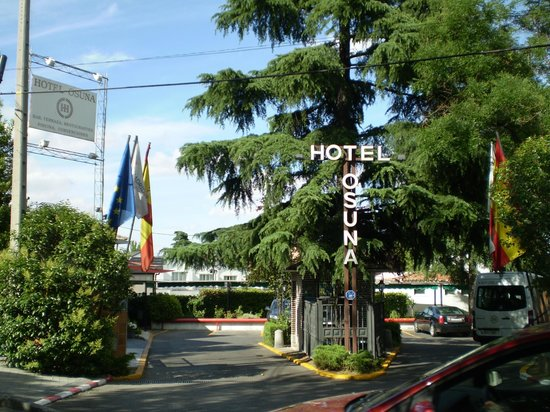 Hotel Osuna: entrata