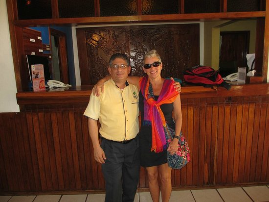Hotel Nututun Palenque: Rudy the English speaking front desk supervisior