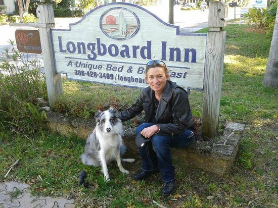 Anchor Inn: Beautiful day at the Longboard Inn