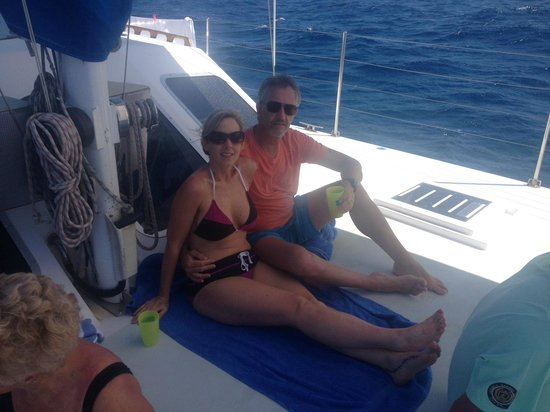 Celine Charters : Relaxing on the boat