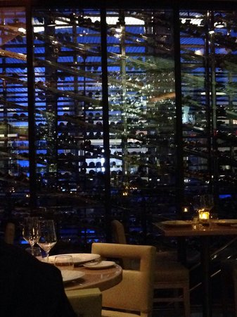 Gotham Steak - Fontainebleau Miami Beach: Wine cellar