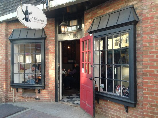 The Entrance To The Wine Kitchen On King Street Picture Of