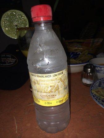 La Choza Cozumel: La choza water