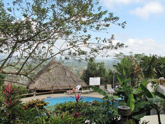 Cahal Pech Village Resort: the view