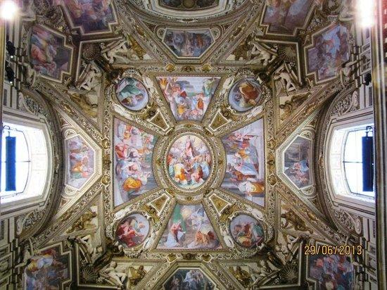 Santa Maria in Trastevere: Techado