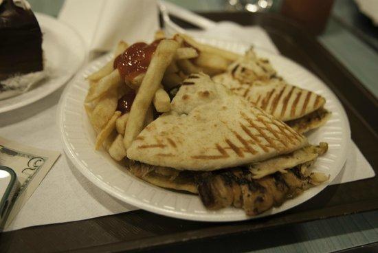 Essex World Cafe: Chicken Fajita Panini...not recommended