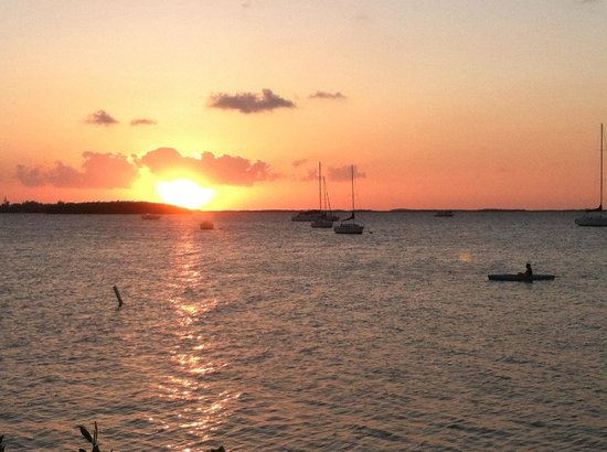 Bayside Grille & Sunset Bar: Mother Natures display