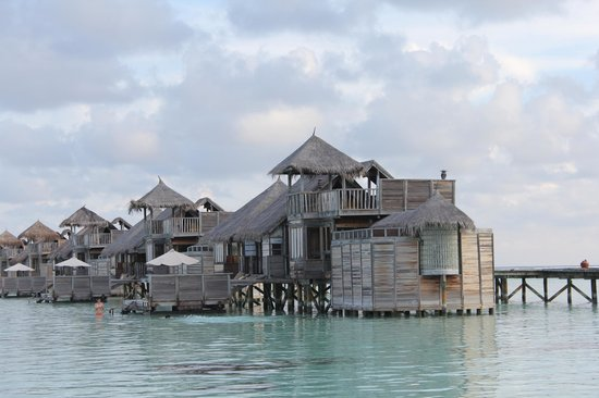 Gili Lankanfushi Maldives : ヴィラスイートの外観