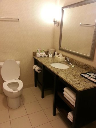 Holiday Inn Express Hotel & Suites Jacksonville - Mayport / Beach: Ванная комната
