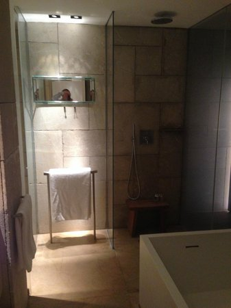 Mamilla Hotel : Shower