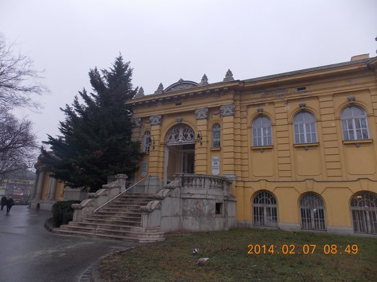 Széchenyi Baths and Pool : Fachada
