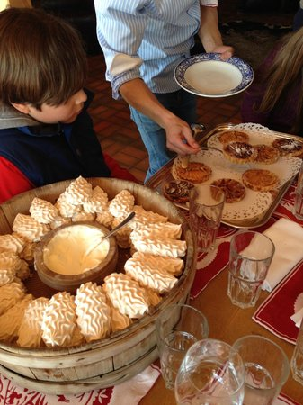 Bergrestaurant Wasserngrat: Dessert