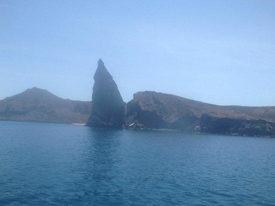 Eagleray Tours: Pinnacle rock, Bartelome Island