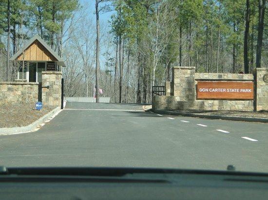Don Carter State Park Visitor Centre Entrance