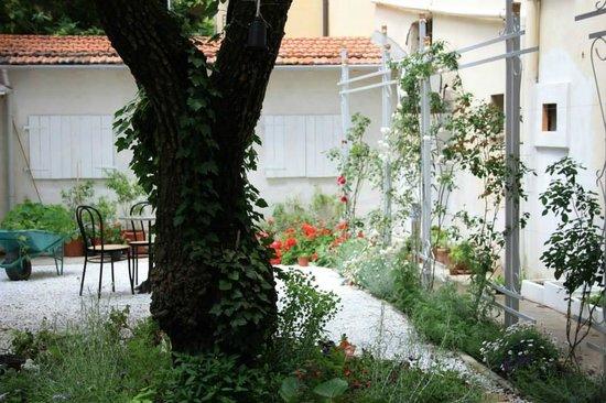 Leonardo Gelateria-Caffe : the garden