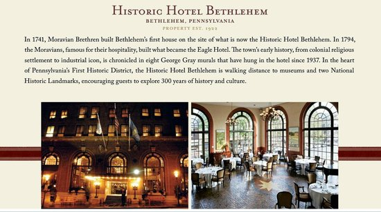 Historic Hotel Bethlehem : Hotel Bethlehem site. Check it out.