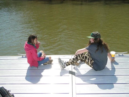 Don Carter State Park: dock time